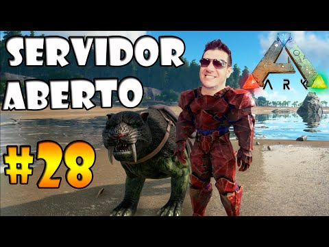 ABRIMOS O SERVIDOR DE ARK PARA TODOS =D #28 -  Ark Survival Evolved Multiplayer