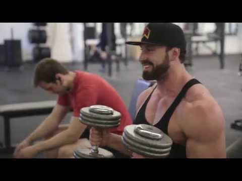 Bradley Martyn | Incline Chest press How to |