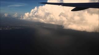 【竜巻発生】上空から見えた東京湾の竜巻 (2013年9月4日)
