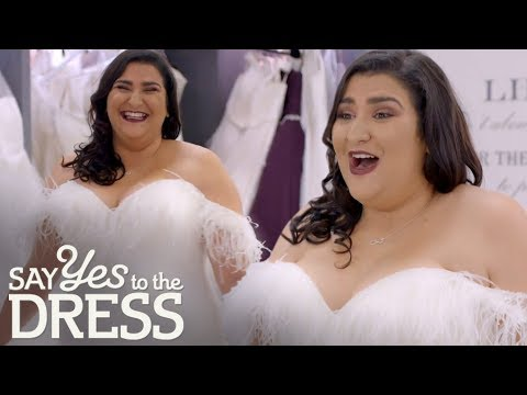 Bride Wants A Wedding Dress That Gives Her Drag Queen Confidence! | Curvy Brides Boutique
