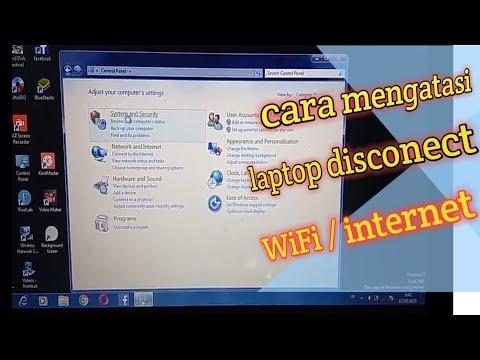 CARA MENGATASI WIFI WINDOWS 7 not connected.