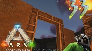 Ark: Scorched Earth #33 (Строим новый Дом с Блэк-джеком и Динозаврами)