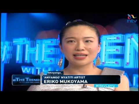 #theTrend: Anyango, the Japanese who can play Nyatiti, speak Swahili and Dholuo