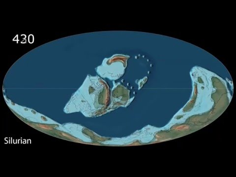 Plate Tectonics,  540Ma - Modern World -  Scotese Animation 022116b