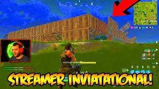 BIGGEST FORTNITE STREAMERS INVITATIONAL!!! (Fortnite Battle Royale)