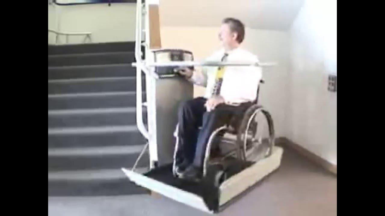 Salvaescaleras elevador para sillas de ruedas en escalera for Sillas ascensores para escaleras precios