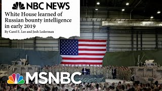 White House Under Fire As Yet Another Russia Scandal Develops - Day That Was | MSNBC
