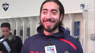 Mika Zibanejad on his Summer, Coach Quinn and More