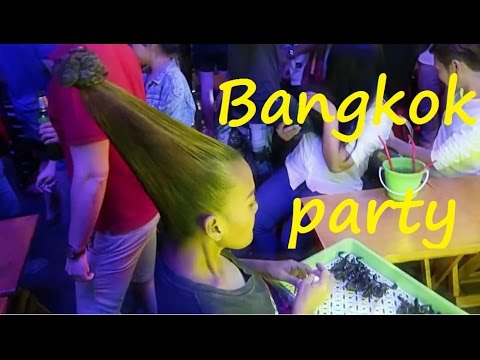 One night in Bangkok - party on Khao San Road (Thailand)