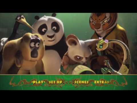 Kung Fu Panda 3 MENU DVD HD (2016)