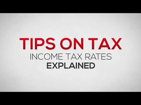 Income Tax Rates Explained