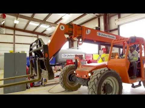 United Rentals Quick Tips - Greasing Machines