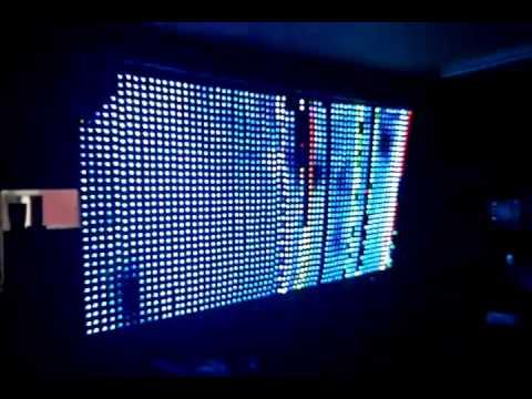 LED Matrix 16x16 (WS2812) + SD Card (bitmap) | FunnyCat TV
