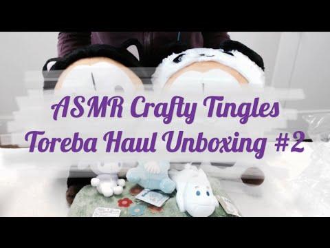 [ASMR] Toreba Plush Unboxing Haul #2
