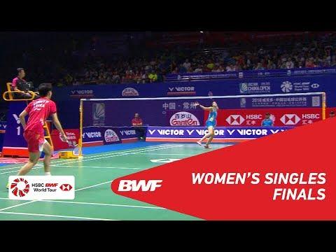 F   WS   Carolina MARIN (ESP) 6 vs CHEN Yufei (CHN) 5   BWF 2018