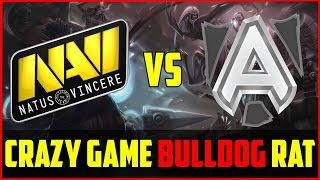 Alliance Vs Na`vi Crazy Game, Bulldog Prophet @ Dreamleague Dota 2