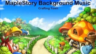 MapleStory Crafting Town Music [HD]