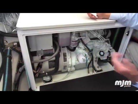 MJM Yachts 50z Daily Generator Check