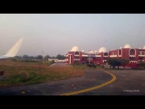 Departure from Vadodara Harni Airport