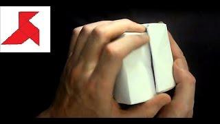 квадратная оригами КОРОБКА из бумаги А4 своими руками?