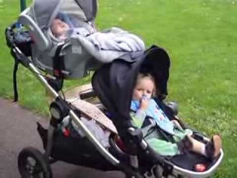 Baby Jogger City Select Double Stroller Review Youtube