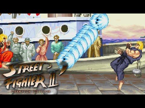 Street Fighter II CE (Koryu hack) - Stream Session Replay (9/7/15)
