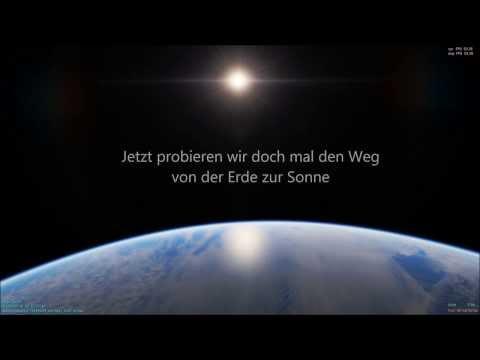 Entfernungen und Geschwindigkeit im Universum / Space Engine