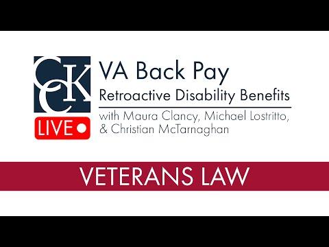 VA Back Pay (Retroactive Benefits) - YouTube
