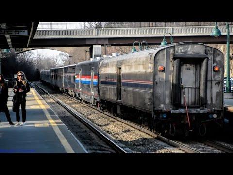 Amtrak [48] LSL w/ Viewliner II & Heritage Baggages @ New Hamburg