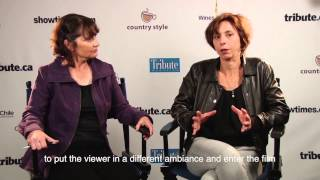 Surho Sugaipov & Sarah Leonor (The Great Man) Interview at TIFF 2014