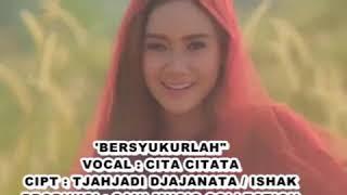 Cover images Vocal cita citata lagu bersyukurlah