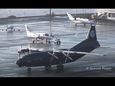 Antonov An-12BK || Ukraine Air Alliance || 50 year old beauty || Madeira