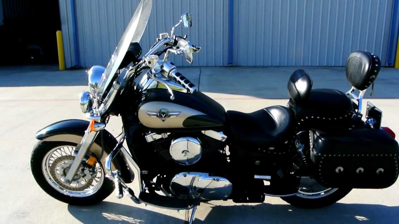 2000 Kawasaki Vulcan 1500 Classic Loaded with Accessories Overview ...