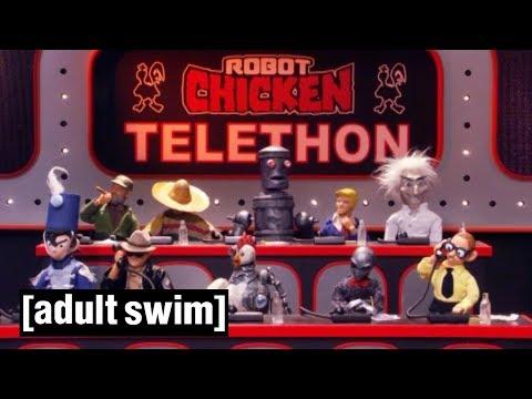 Robot Chicken Telethon | Robot Chicken | Adult Swim