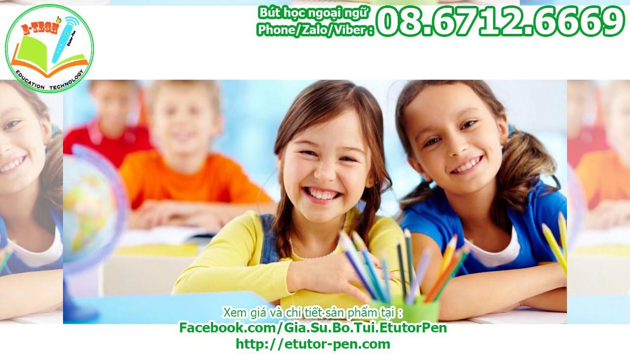 Bút học tiếng Trung cho trẻ em