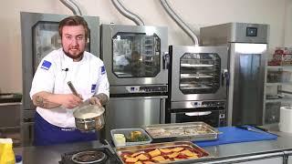 Треска с помидором сыром и зеленью Треска под соусом бешамель Рецепт Radax Олег Рыбаков