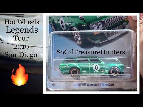 Hot Wheels Legends Tour San Diego 2019: Hot Wheels Hunting, Cool Cars, and Exclusives!