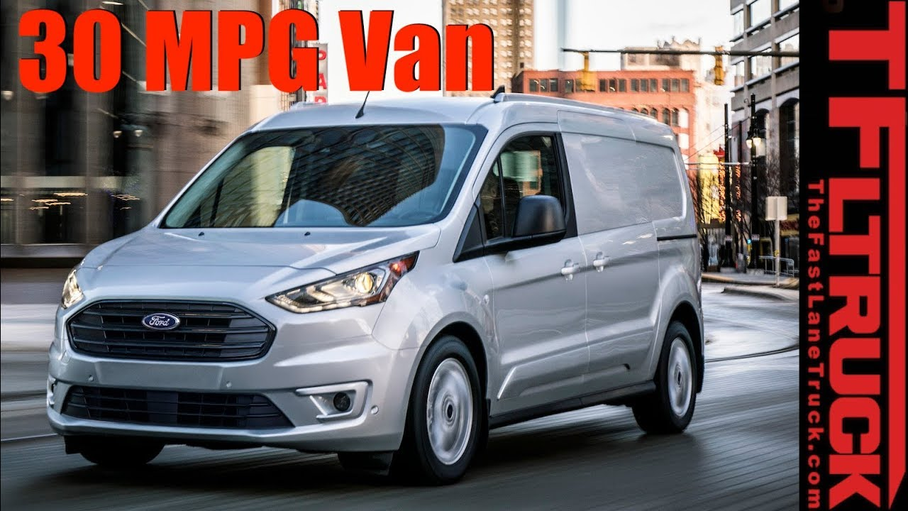 2019 Ford Transit Connect Cargo Van Everything You Want To Know