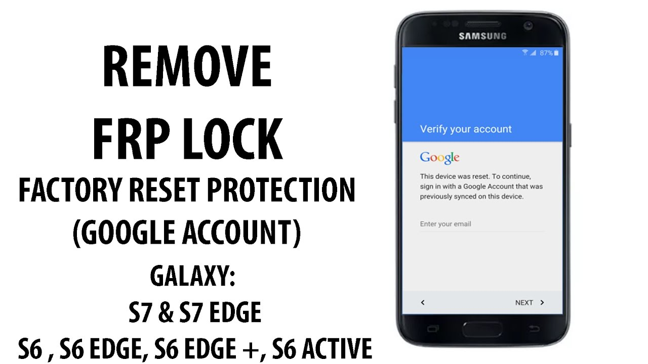 how to unlock a locked samsung s7