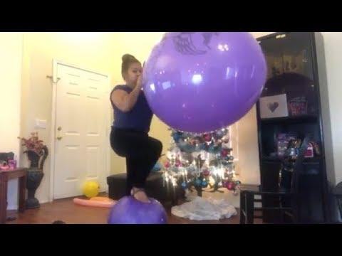 Saturday Balloon Time 😘🎈Set 2 Popped Beach Ball thumbnail