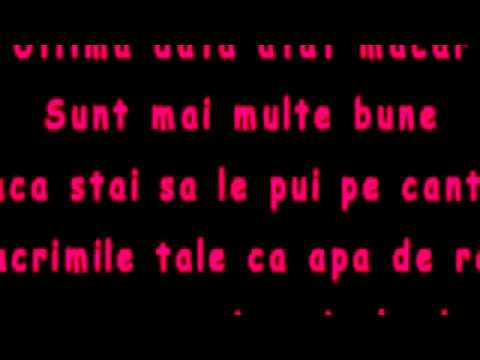 Oana Radu - Tu [ Lyrics Video ] Romania HIT