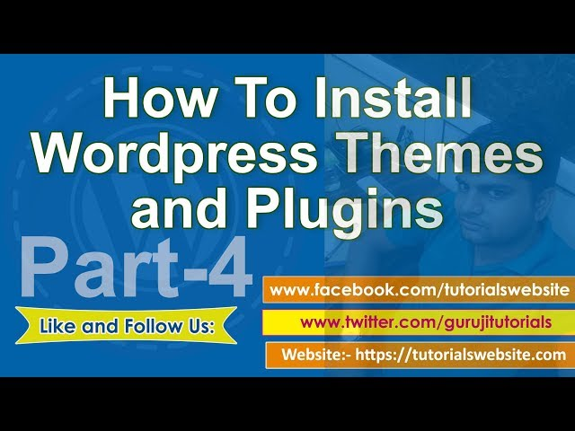 wordpress tutorial in hindi step by step- Part-4: How to install wordpress themes and plugins