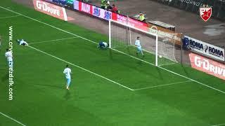 Crvena zvezda - Spartak 4:0, highlights