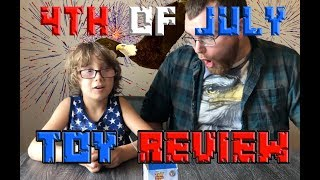 4th of July TOY REVIEW! TOY STORY 4, ROBLOX, LEGO MOVIE 2!!!