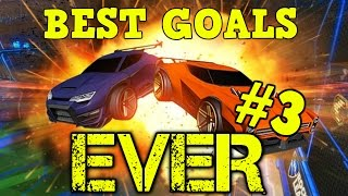 BEST GOALS EVER #3 (Freestyles, Air Dribbles & more) - Rocket League Community Montage [HD]
