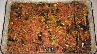 Fırında Patlıcan Musakka Yemeği - En kolay Yemek Tarifleri