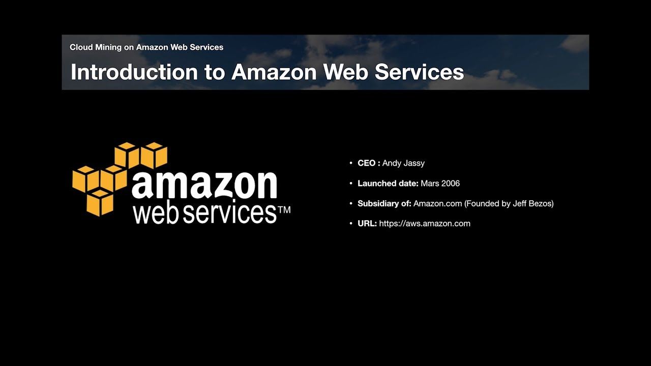 10 Introduction To Aws The Complete Guide To Start Mining Bitcoin In The Aws Cloud -