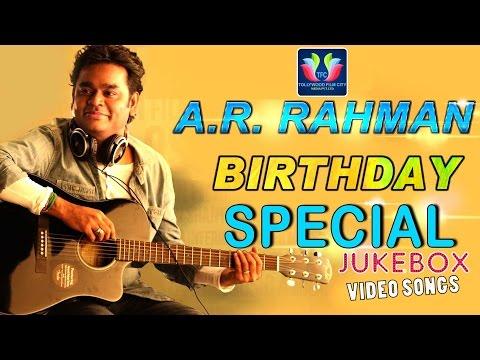 AR Rahman Telugu Hit Video Songs Jukebox | Best Songs Collection |Birthday Special