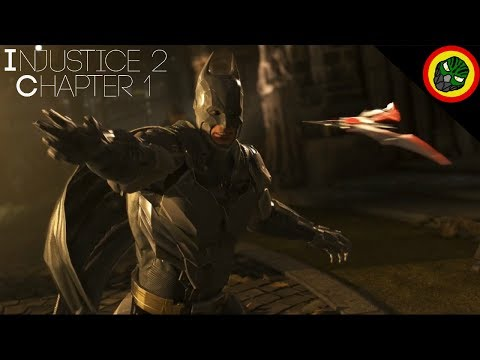 DB Plays: Injustice 2 Chapter 1: Godfall I HAVE NO IDEA WHAT I'M DOING