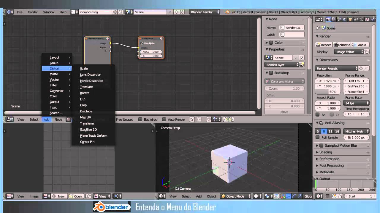 Blender tutorial em portugues vfx masking p3 (final) youtube.